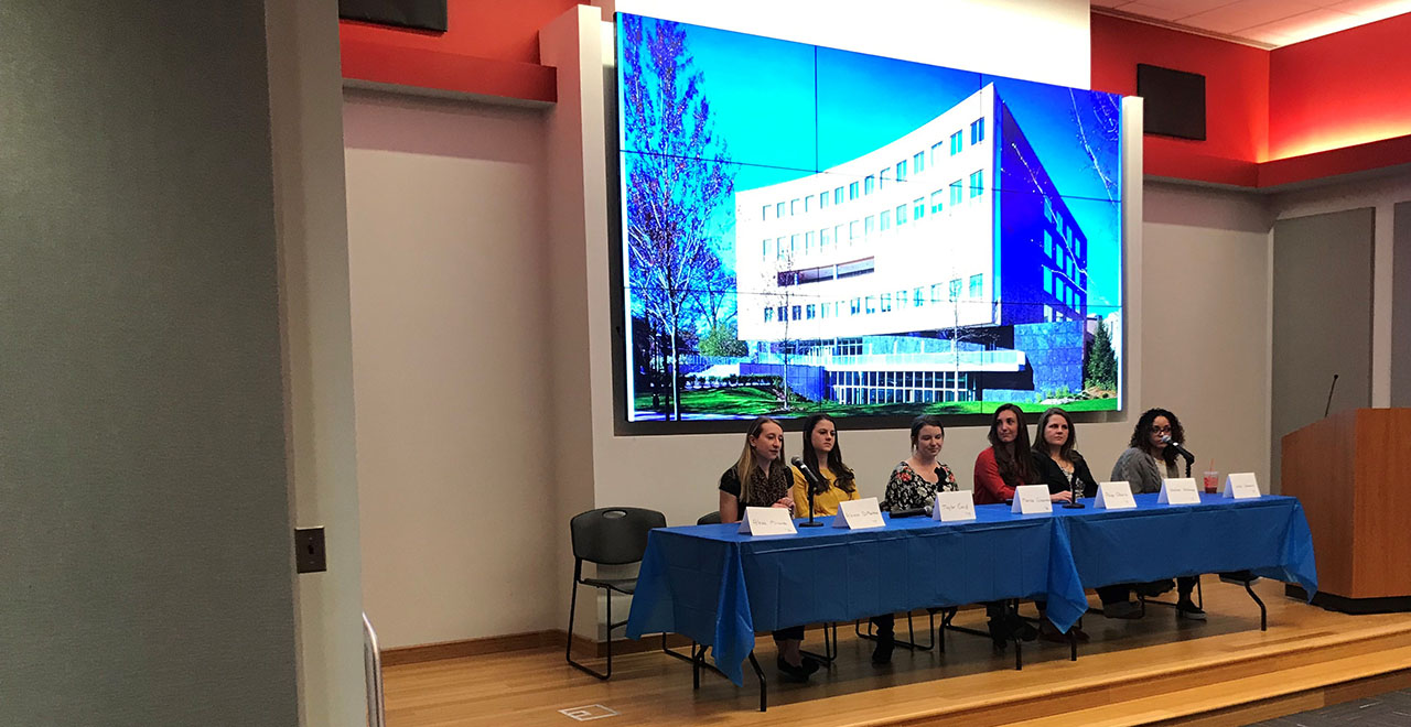 2019 Nursing Alumni Panel Prepares Seniors for the Workforce