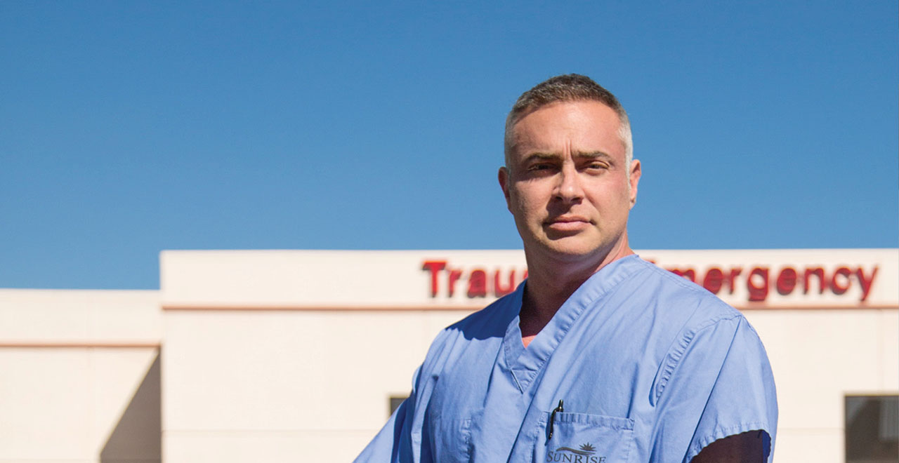 Surgeon Christopher Fisher '93, On the Front Lines of Trauma