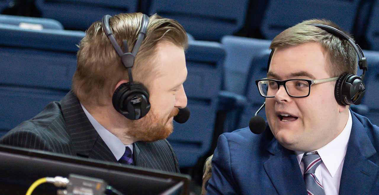John Fanta '17 Recognized as a Sportscaster to Watch