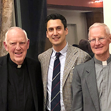The Center for Catholic Studies hosted its Annual Friends Dinner to welcome Fr. Roy, the spring 19'Toth/Lonergan Professor