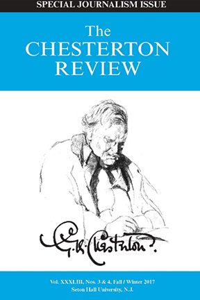 Picture of Chesterton Institute special issue